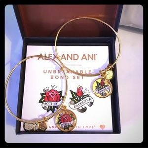 Mother Daughter Gift Alex and Ani Bracelet Set FAB